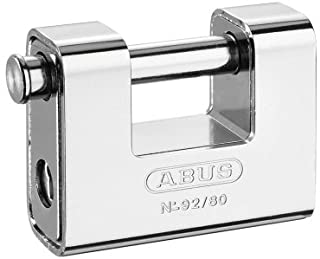 Abus 92-80 B - Candado Monoblock rectangular blindado 80mm blister
